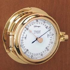 Weems & Plath Cutter Brass Barometer