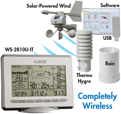 La Crosse Weather Stations WS-2810U-IT
