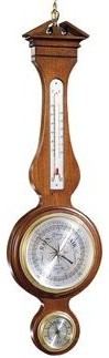 Presque Isle Banjo Barometer From Howard Miller