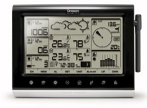 Oregon WMR200A Home Weather Station Console