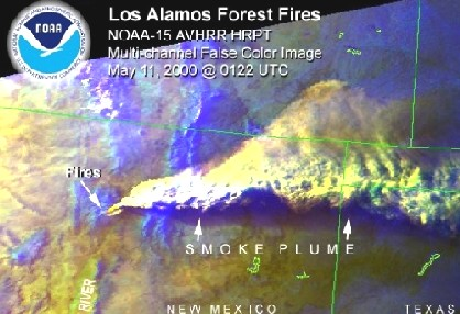 Smoke Plume, New Mexico