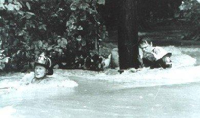 Flash flood rescue