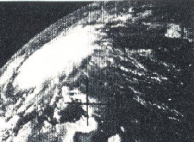 Hurricane Anna, first ever satellite image