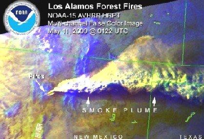 Smoke Plume, New Mexico