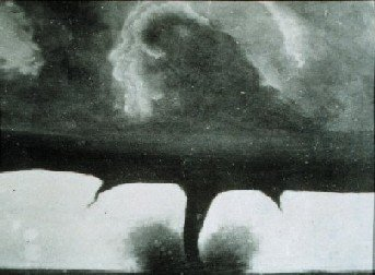 First Known Tornado Photo