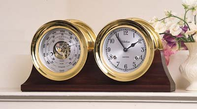 Chelsea Barometer & Clock Set from Wind & Weather