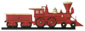 Locomotive from Large Selection of Weathervanes at Knobs & Things