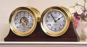 Chelsea Barometer & Clock Set